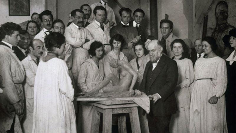 Amrita Sher-gil at Académie de la Grande Chaumière