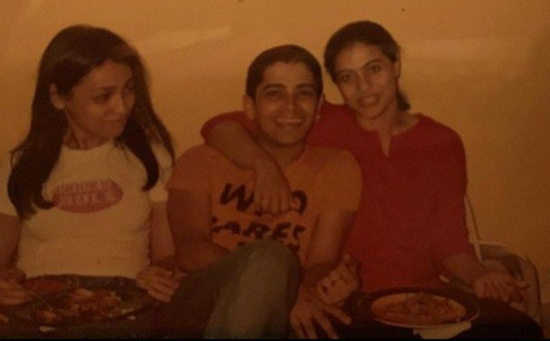 An Old Picture of Ryan Ivan Stephen and Kajol