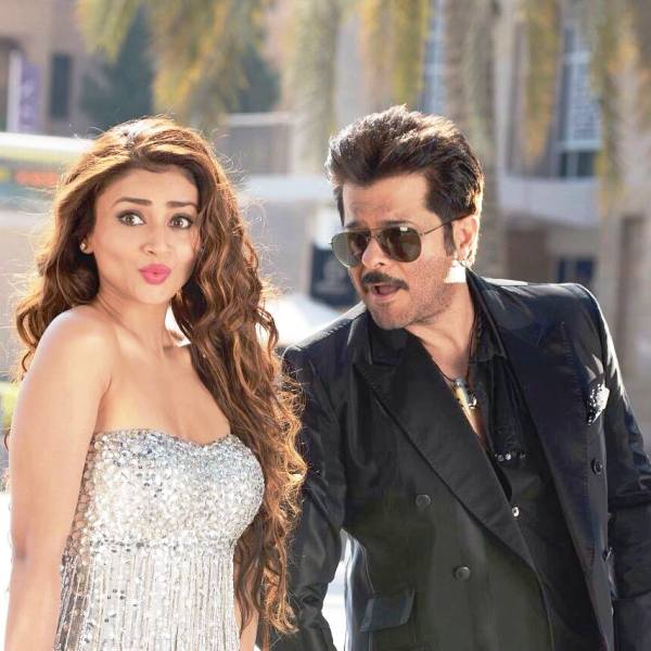 Ankita Srivastava with Anil Kapoor in Welcome Back