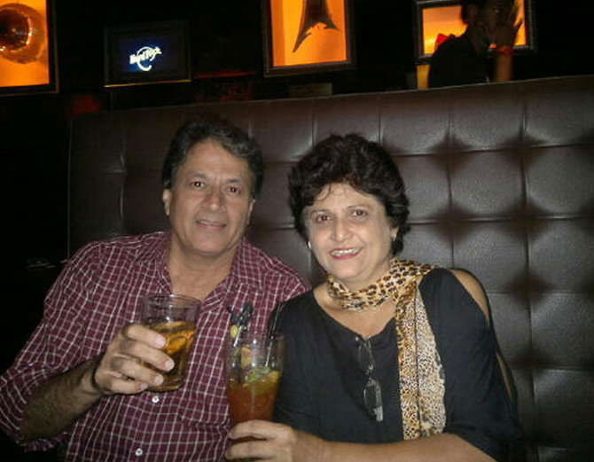 Arun and his wife having a quality time