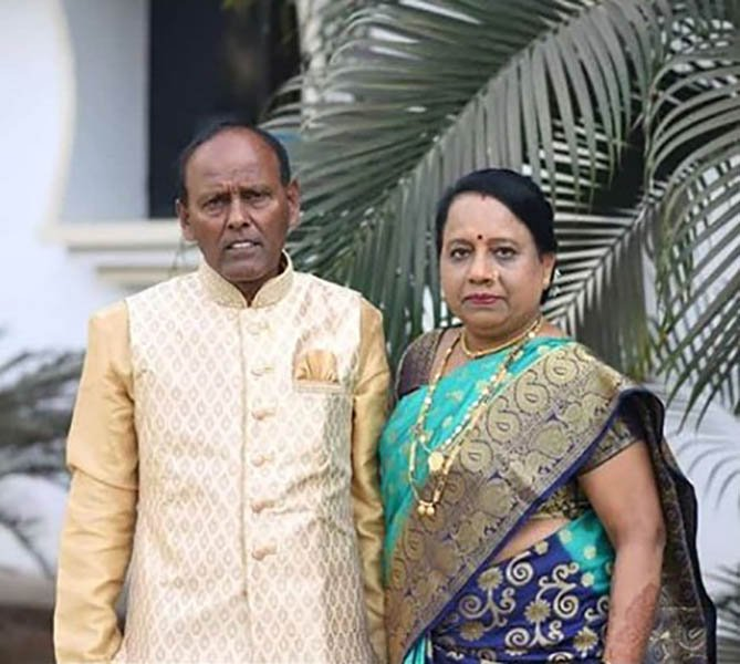 Dharmesh Yelande's Parents