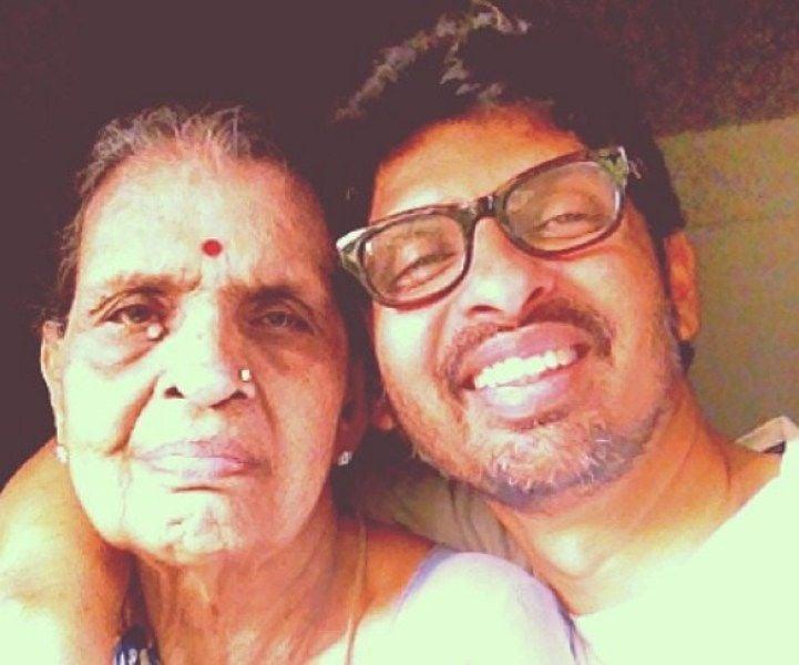 Niranjan Iyengar with his Mother