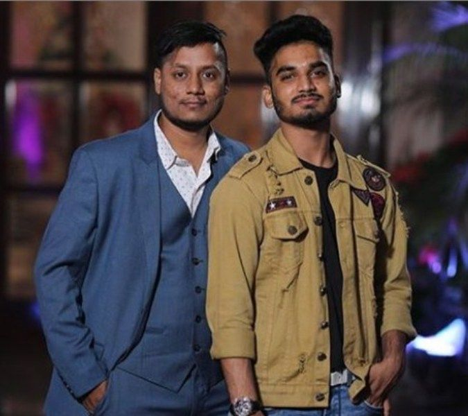 Paramdeep Singh with his Brother