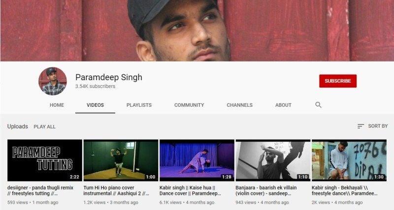 Paramdeep Singh's Youtube Channel