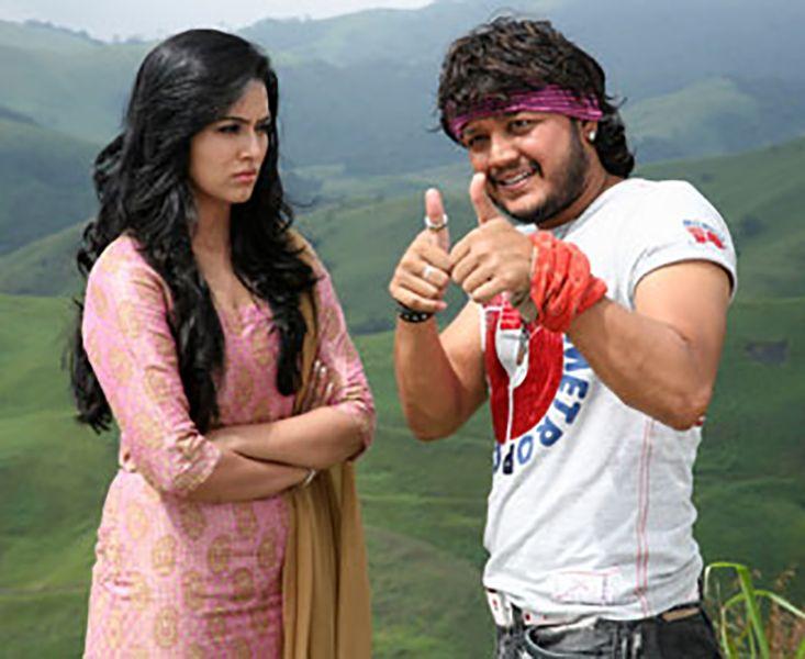 Sana Khan in a Scene from Kool...Sakkath Hot Maga (2011)