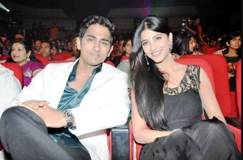 Shruti Haasan With Siddharth