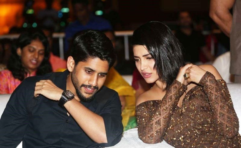 Shruti Haasan and Naga Chaitanya
