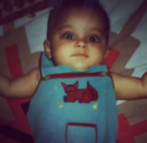 Srishti Dixit's Childhood Picture
