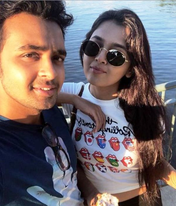 Tejasswi Prakash With Her Brother
