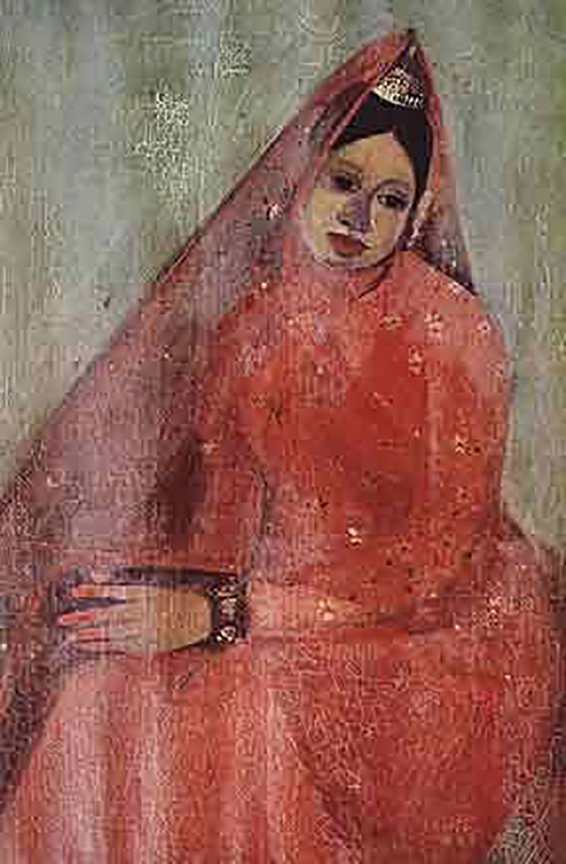 The Bride by Amrita Sher-Gil