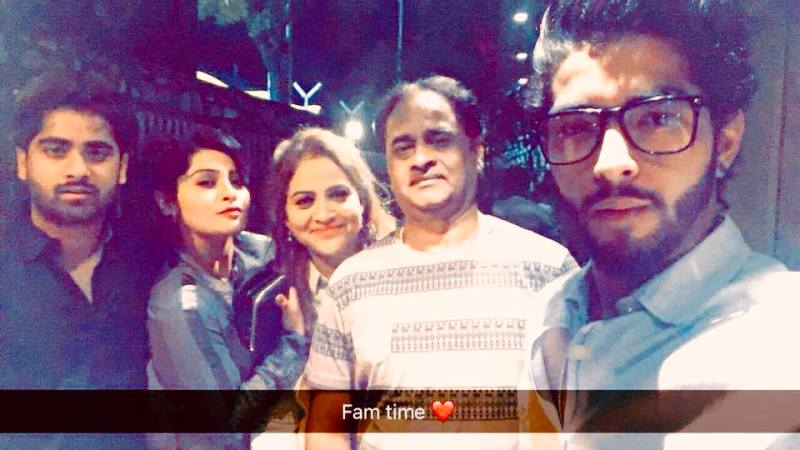 Yukti Kapoor With Her Family