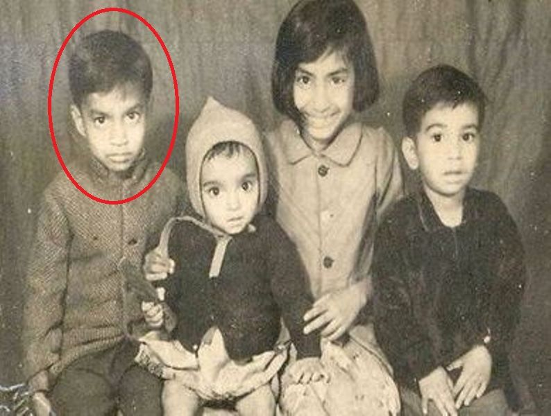 A Childhood Photo of Irrfan Khan With His Siblings