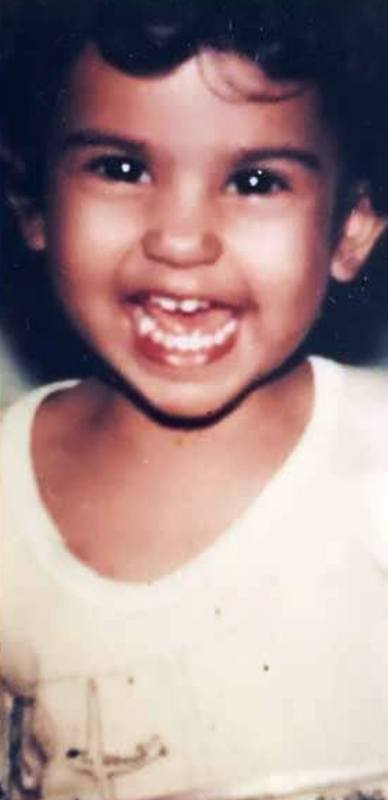 A Childhood Picture of Aaditi Pohankar