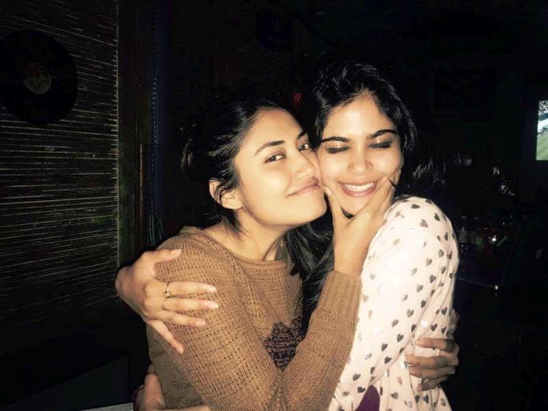 Aaditi Pohankar With Her Sister