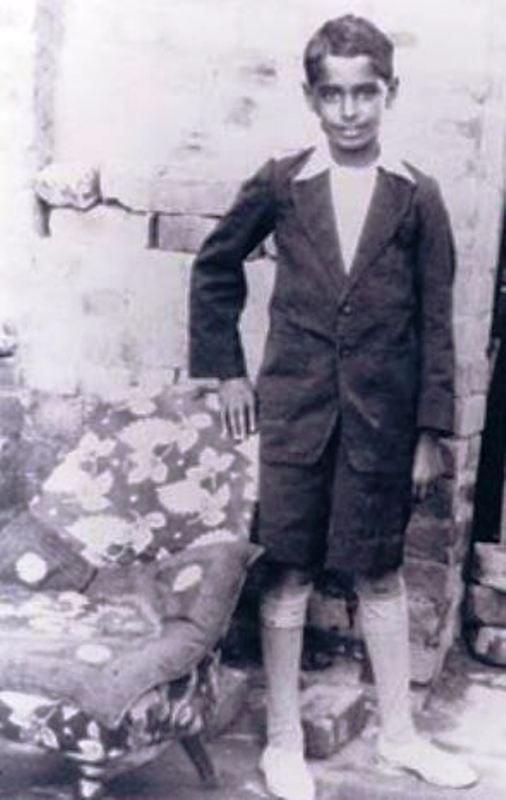 A Childhood Photo of Ramanand Sagar