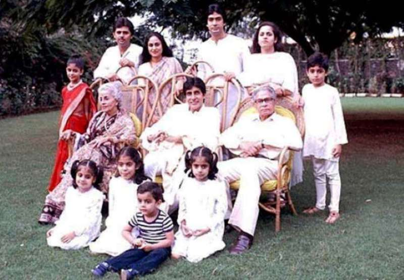 An Old Photo of the Bachchan Family