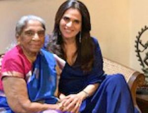 Anita Dongre with her mother-in-law