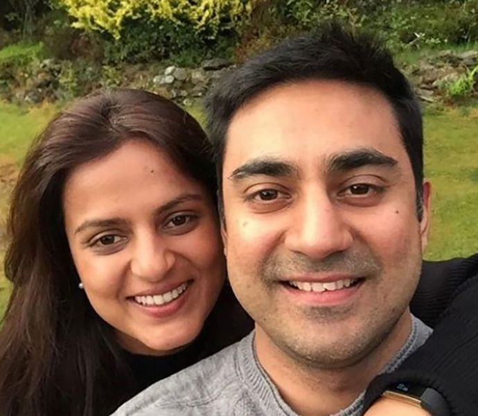 Bharat Sahni's Brother and his Wife