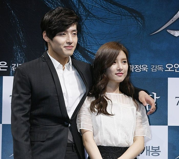Kim So-eun with Kang Ha-neul