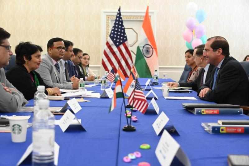Lav Agarwal at the US-India Health Dialogue
