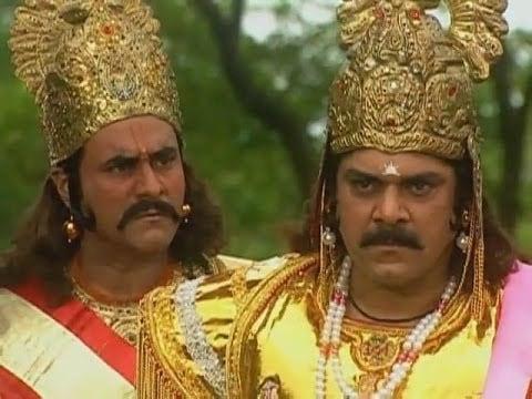 Puneet Issar as Duryodhana in Mahabharat