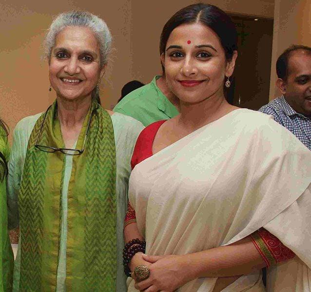 Salome Roy Kapur with Vidya Balan