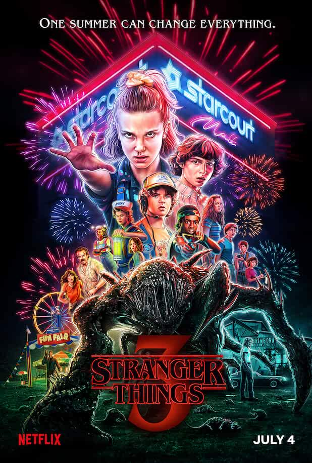 Chase Stokes in Stranger Things