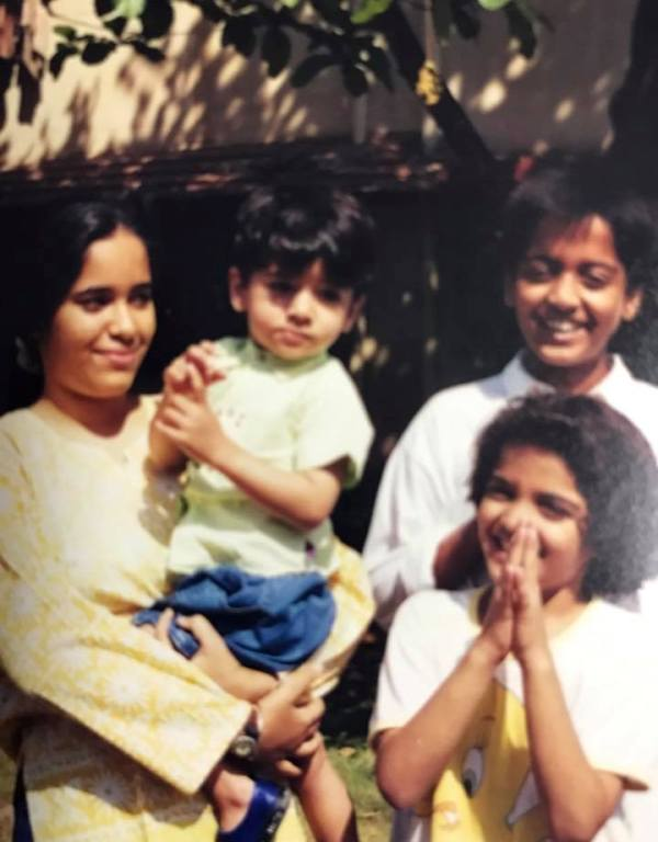 Surendra Pal's Wife and Children
