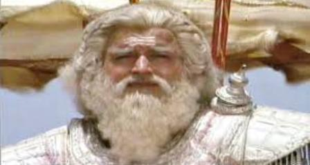 Surendra Pal as Dronacharya in Mahabharat