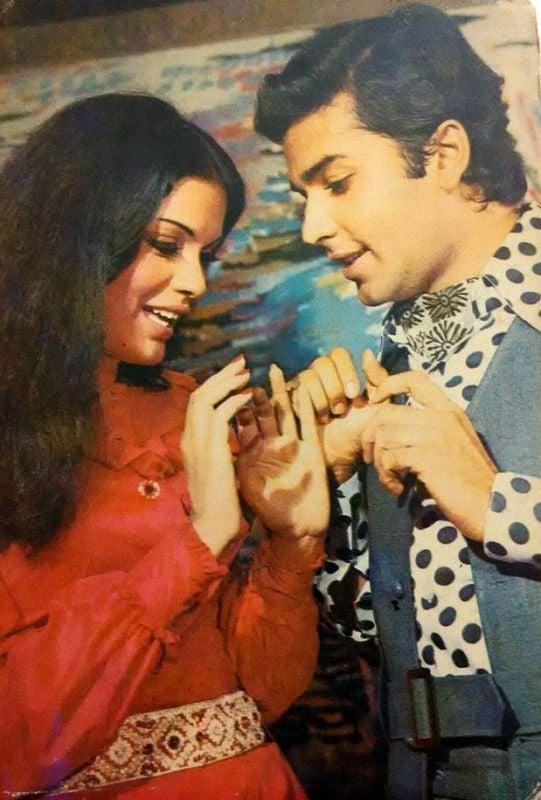 Vijay Arora With Zeenat Aman