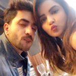 Ali Goni with Jasmin Bhasin