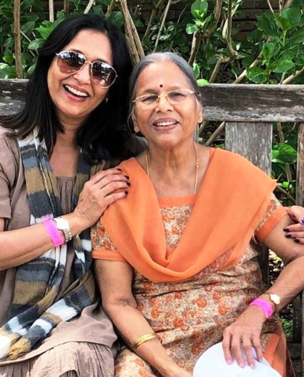Ashwini Bhave and Her Mother