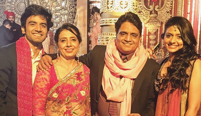Ayush Mehra with his family