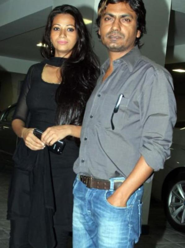 Nawazuddin Siddiqui With His Wife Aalia aka Anjali Kishor Pandey