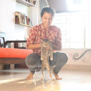 Niharika Lyra Dutt loves cats