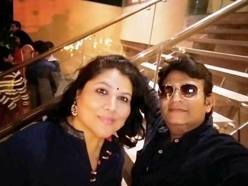 Pinky Parikh and Her Husband