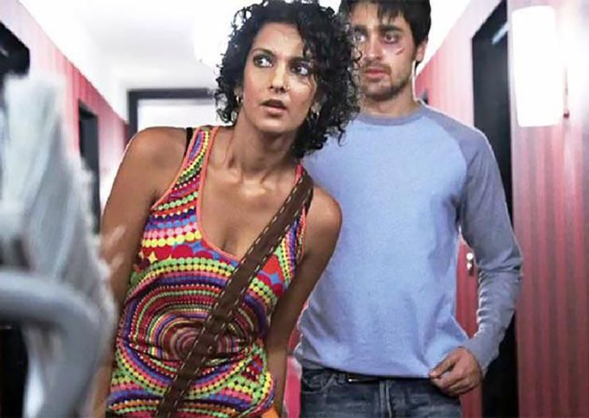 Poorna Jagannathan in a Scene from 'Delhi Belly' (2011)