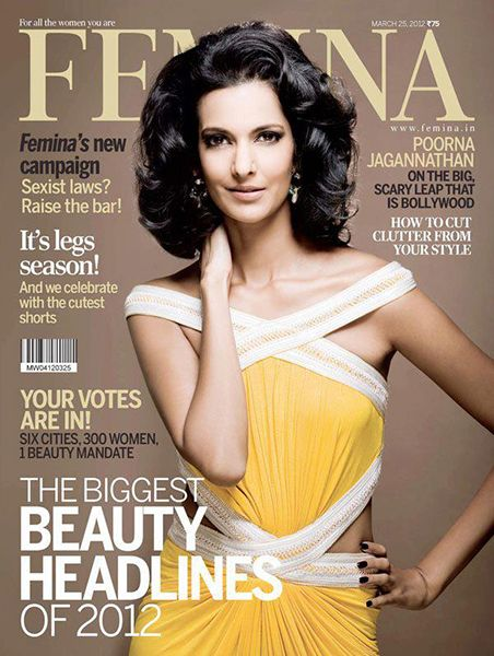 Poorna Jagannathan on the Cover of Femina