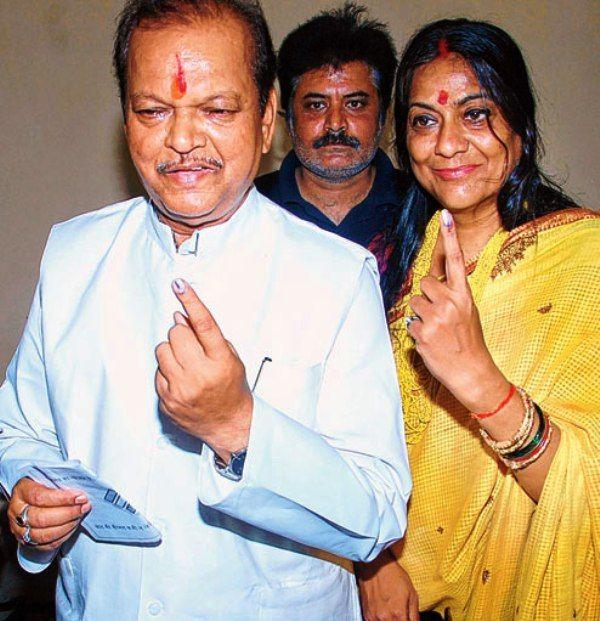 Rekha Sahay With Her Husband
