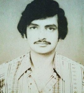 Shahnawaz Pradhan in his younger days