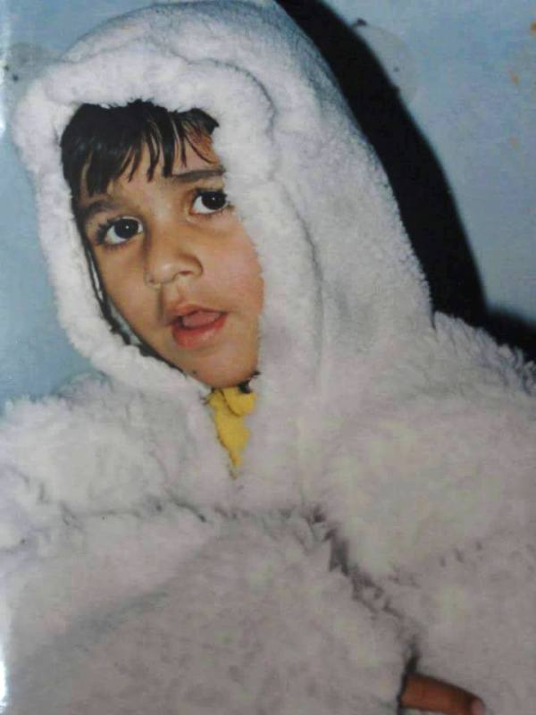 A Childhood Picture of Ayushmaan Saxena