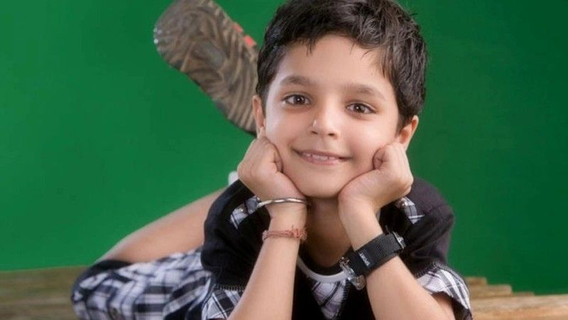 A Childhood Picture of Viren Vazirani