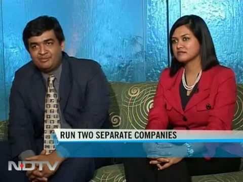 Devita Saraf with her brother Akash Saraf
