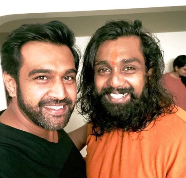 Chiranjeevi Sarja and His Brother