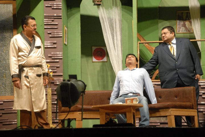 Jagesh Mukati in the theater play