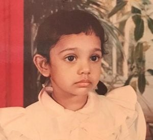 Mumtaz Sorcar's childhood picture