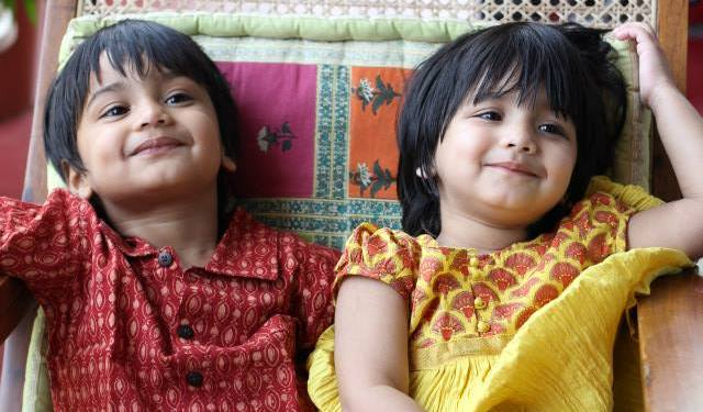 Priya Balan twins children