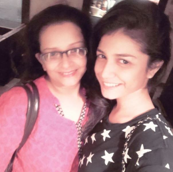 Sauraseni Maitra and Her Mother