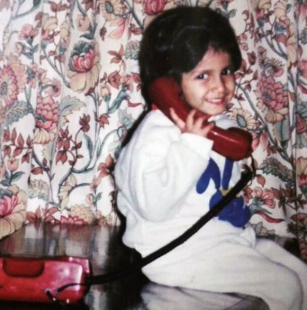 Sauraseni Maitra's Childhood Picture
