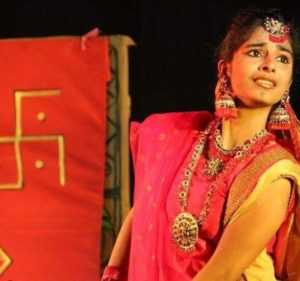 Siddhi Mahajankatti in the play, Charandas Chor